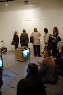 Ausstellung 2007 | KREDIT #1-2 // kettenfilme und andere kooperationen // | arttransponder Berlin
